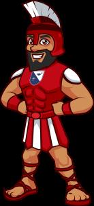Holy Trinity Episcopal School Titan Cartoon