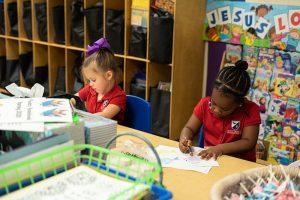 Holy Trinity Episcopal School Classroom