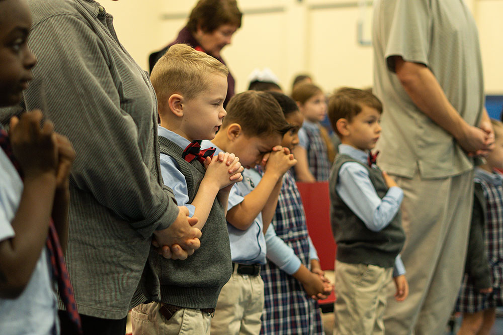 Holy Trinity Episcopal School Chapel Service
