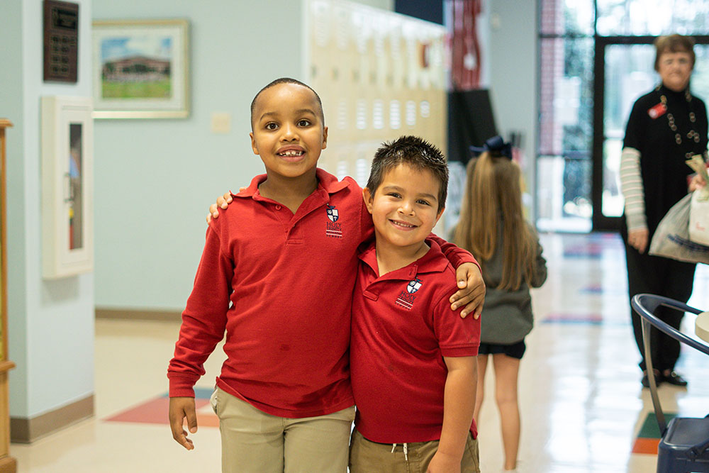 Holy Trinity Episcopal School Students